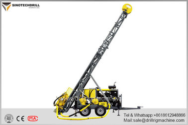 Atlas Copco Construction Equipment Diamond Core Drill Rig With 5113NM Max Torque
