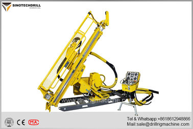 چین Deep Hole Hydraulic Underground Core Drill Rig With PQ & HQ Max Rod Size 160Cc Rotation Motor تامین کننده