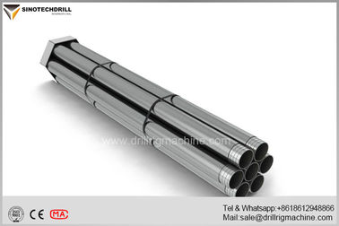 Tapered Threads PQ Wireline Drill Rods For Mineral Exploration With DCDMA Standard