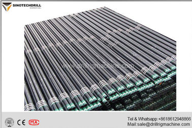 Q Series Heat Treatment Wireline Drill Rods With Heated Treatment Process 1.5m / 3m Length